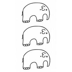 Eléphant minimaliste
