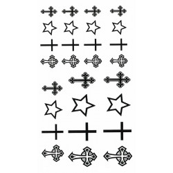 Crosses and Stars