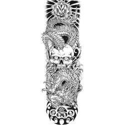 Skull & Dragon Sleeve
