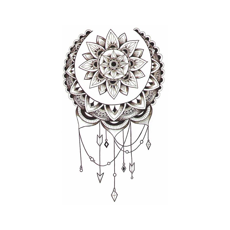 tatouage ph m re mandala attrape r ve bras. Black Bedroom Furniture Sets. Home Design Ideas