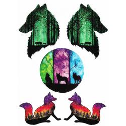 Color Wolves