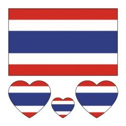 Thaïlande Drapeau