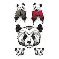 Panda boxeur