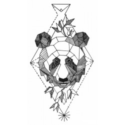 Graphic panda
