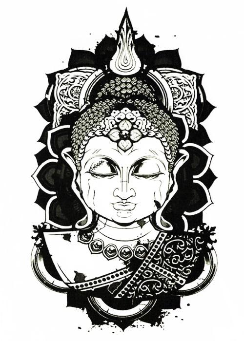 tattoo bouddha méditation