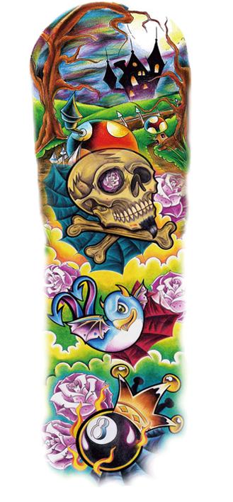 tattoo fantaisie donjon et dragon