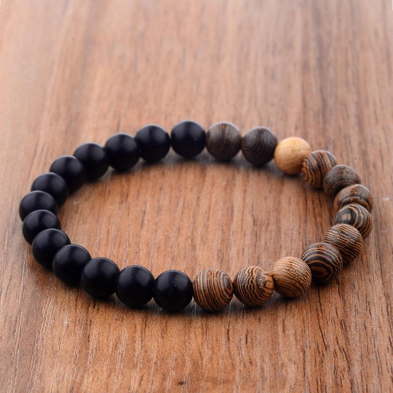 bracelet bois homme