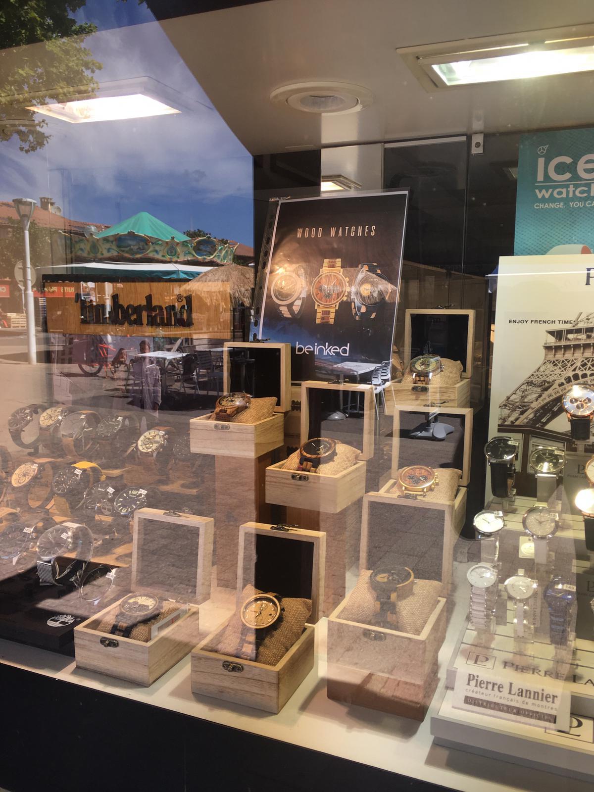 montres en bijouterie