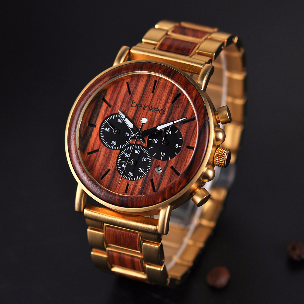 Montre Bling and wood