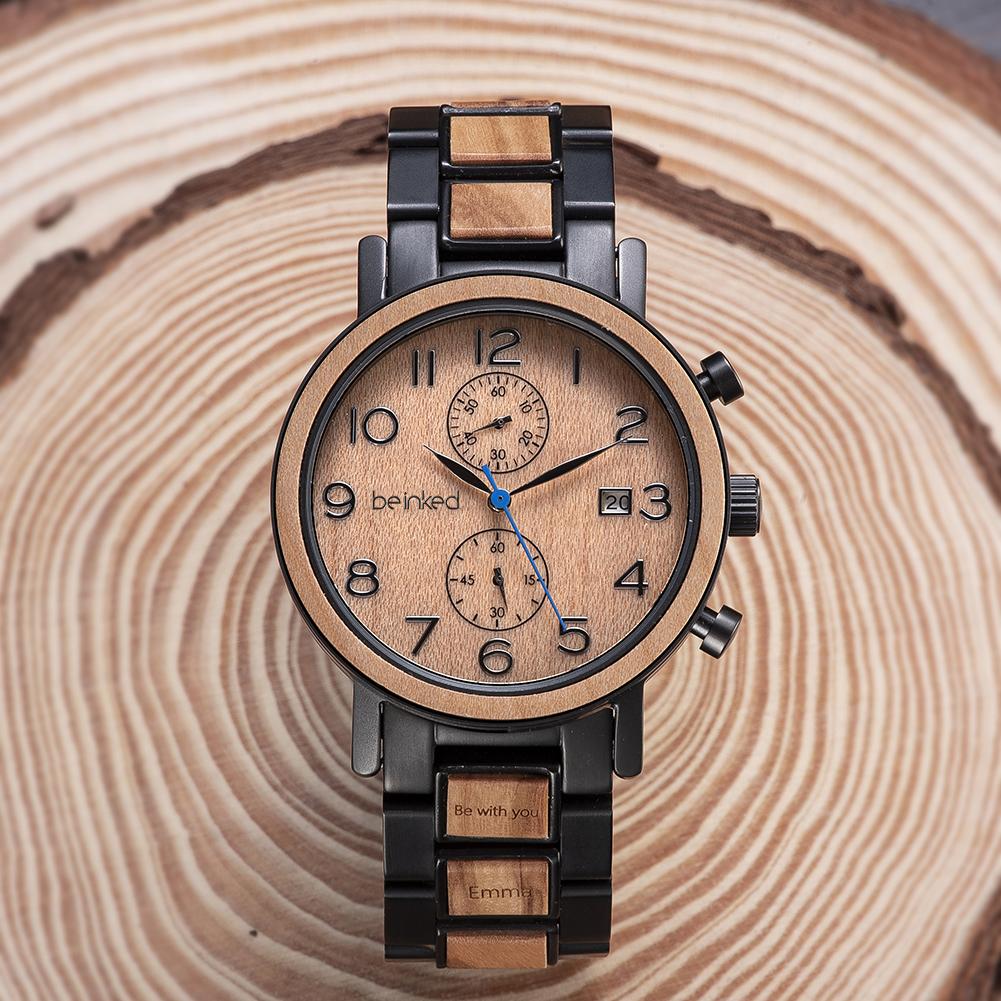 Montre bois precieux