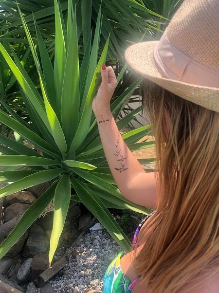 tatouage flèche