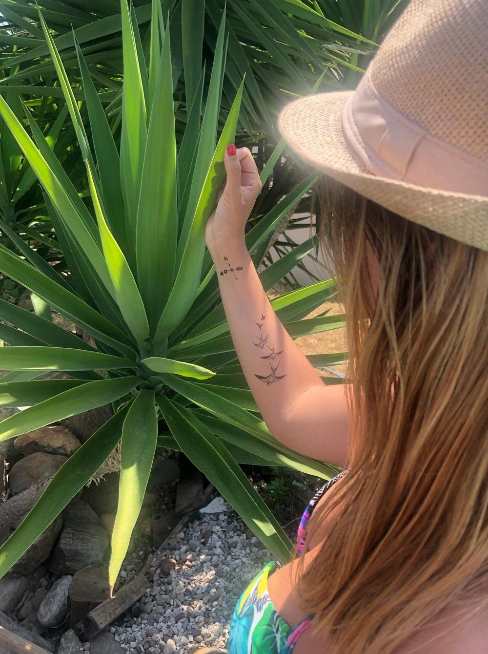 tatouage hirondelle